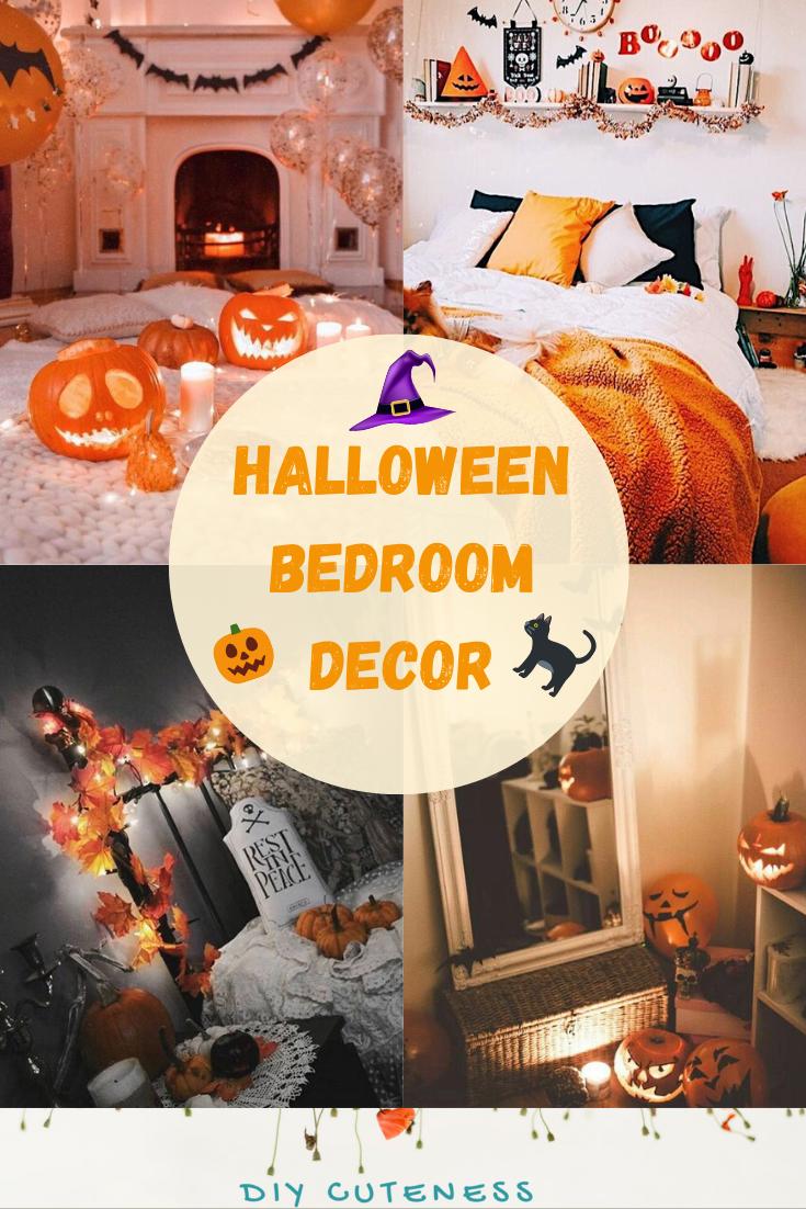 Halloween Bedroom Decor - DIY Cuteness