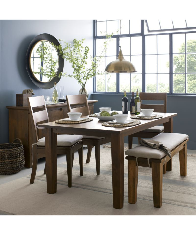 Dish Round Wall Mirror Reviews Crate And Barrel Dining Room