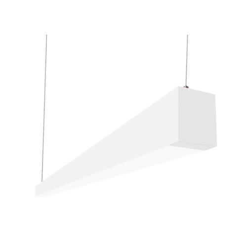 Alcon Lighting Beam 253 Series 12145 4 Led 2 5 Inch Aperture 4 Foot Enclosed Linear Pendant Light Fixtur Light Architecture Led Light Fixtures Suspension Light