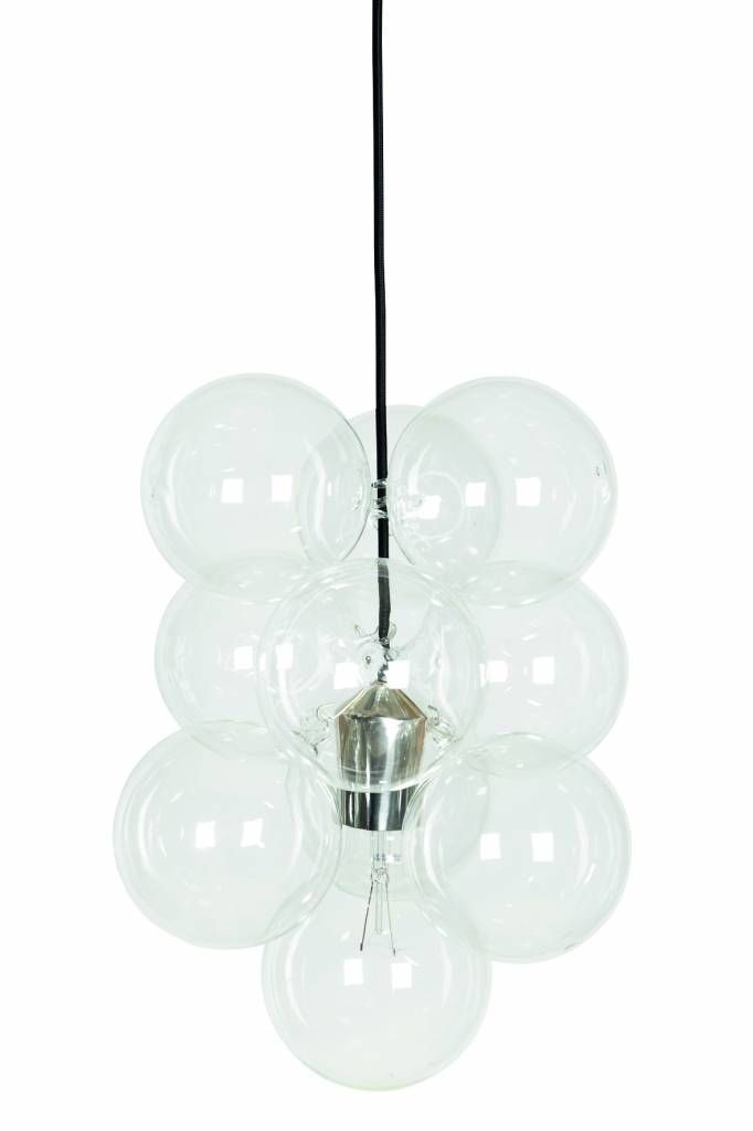 House doctor lamp 'DIY' silver  Ø13cm
