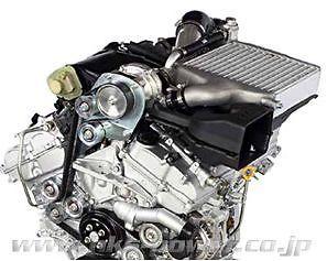 New HKS GT Supercharger Complete Kit for ALPHARD VELLFIRE
