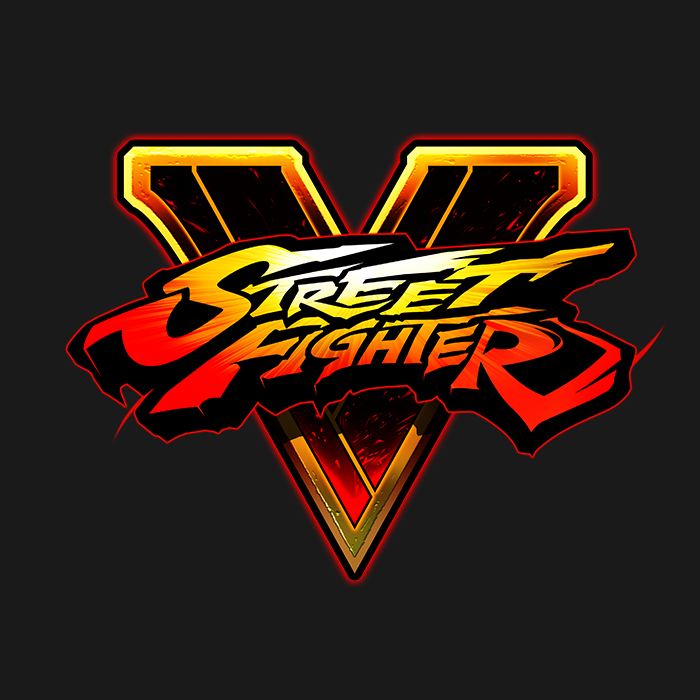 street fighter v logo png