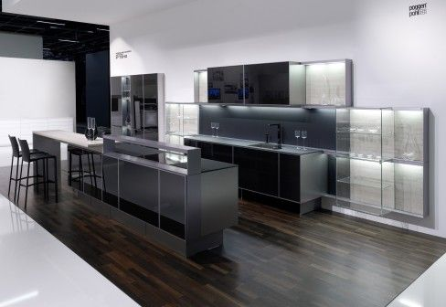 Poggenpohl PORSCHE DESIGN KITCHEN P´7340 | kitchen | Pinterest | Küche