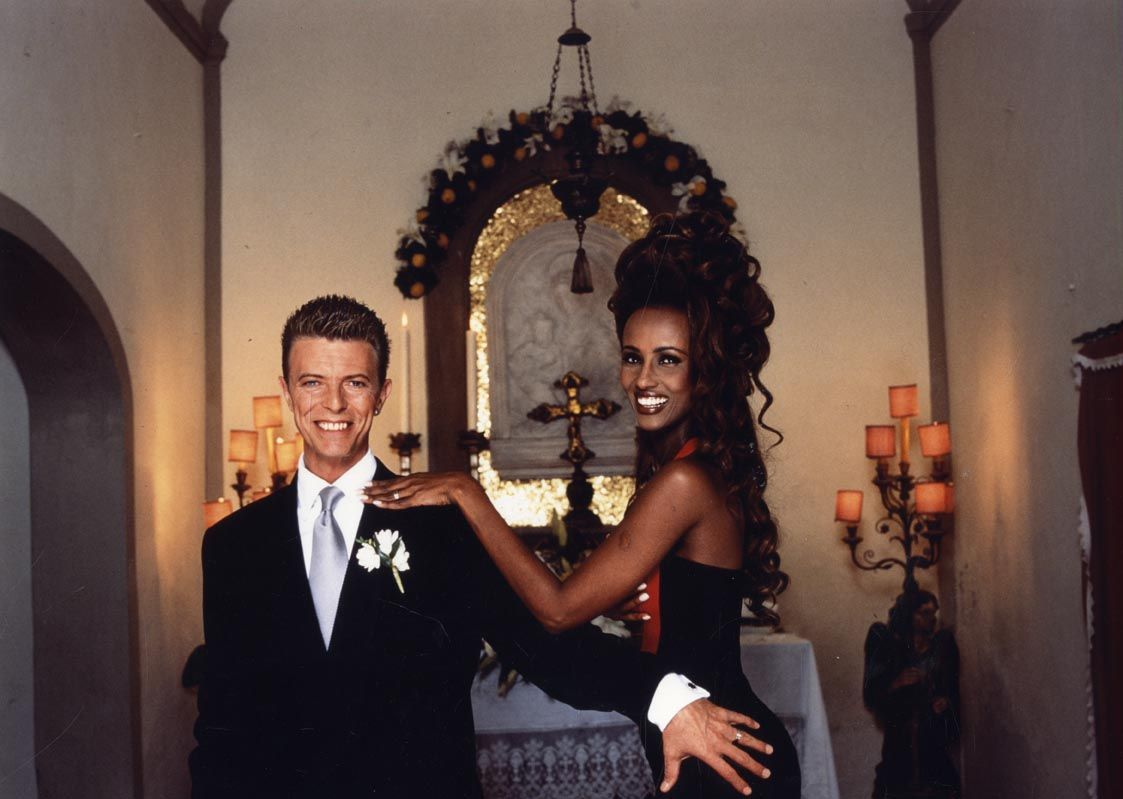 David Bowie & Iman: Tribute To Love