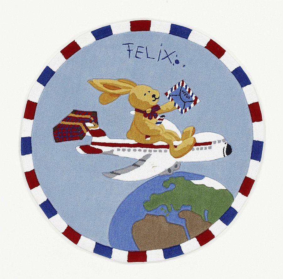 Felix Rovina Kruh 130 cm - Detské koberce - Koberec,moderný koberec,značkové koberce, koberce s dlhým vlasom, detské koberce, 179Eur, polyakryl