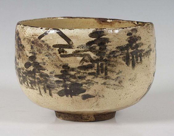 tea bowl by ogata kenzan   Tea bowls, Ceramics, Japanese ceramics