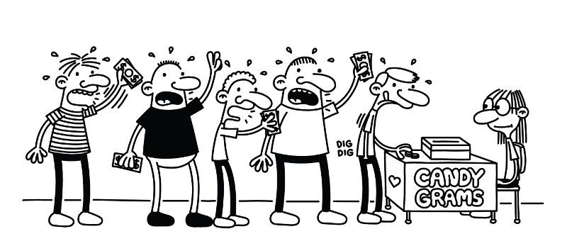diary of a wimpy kid coloring pages # 9