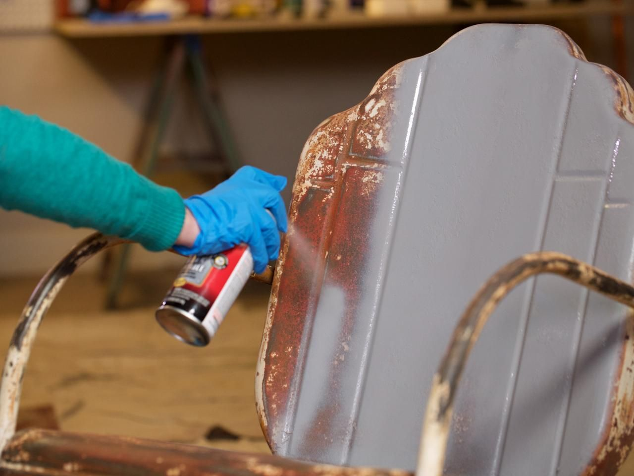 How To Refinish Metal Furniture