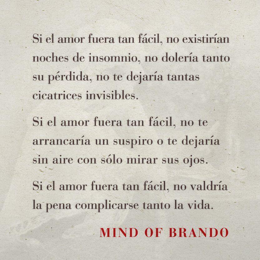 Palabras De Amor Y De Aliento Mind Of Brando Cartas Al Tiempo