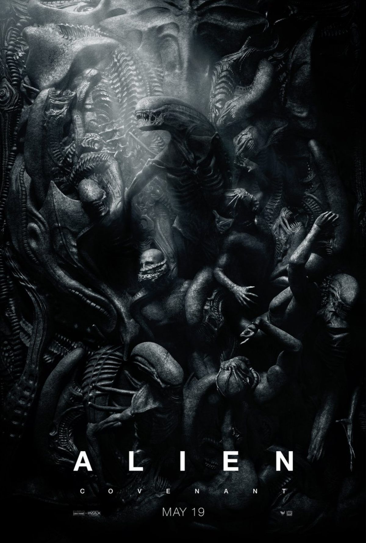 We Cannot Stop Looking At This Alien Covenant Poster Peliculas