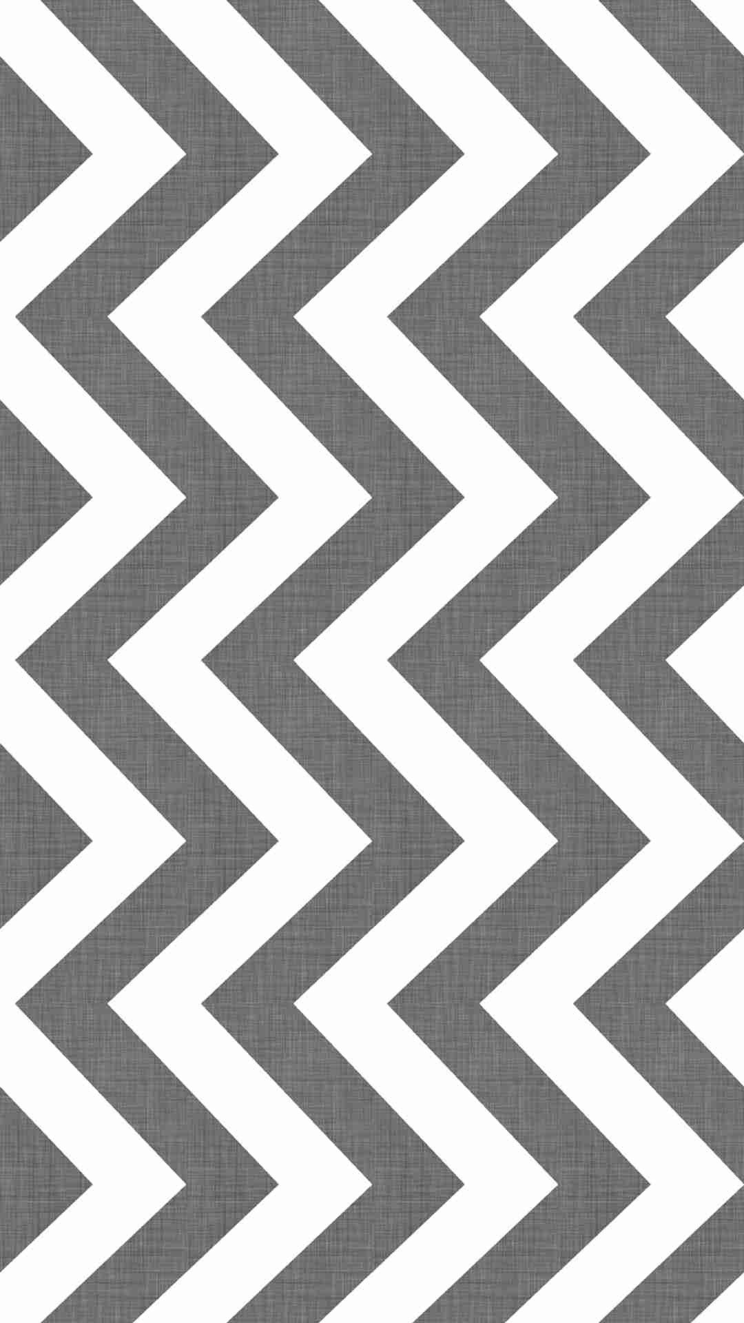 Grey And White Texture Chevron IPhone 6 Plus Wallpaper