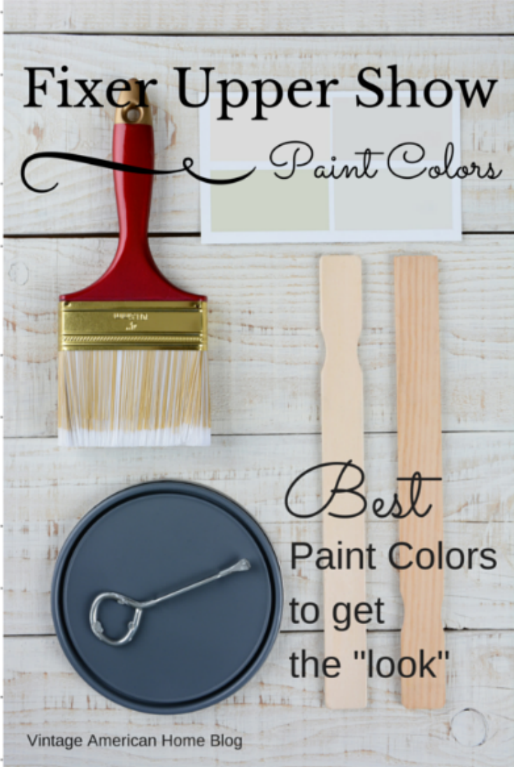Charming Fixer Upper Paint Colors. Name Of Paint Colors To Get The Joanna Gaines  Style Fixer