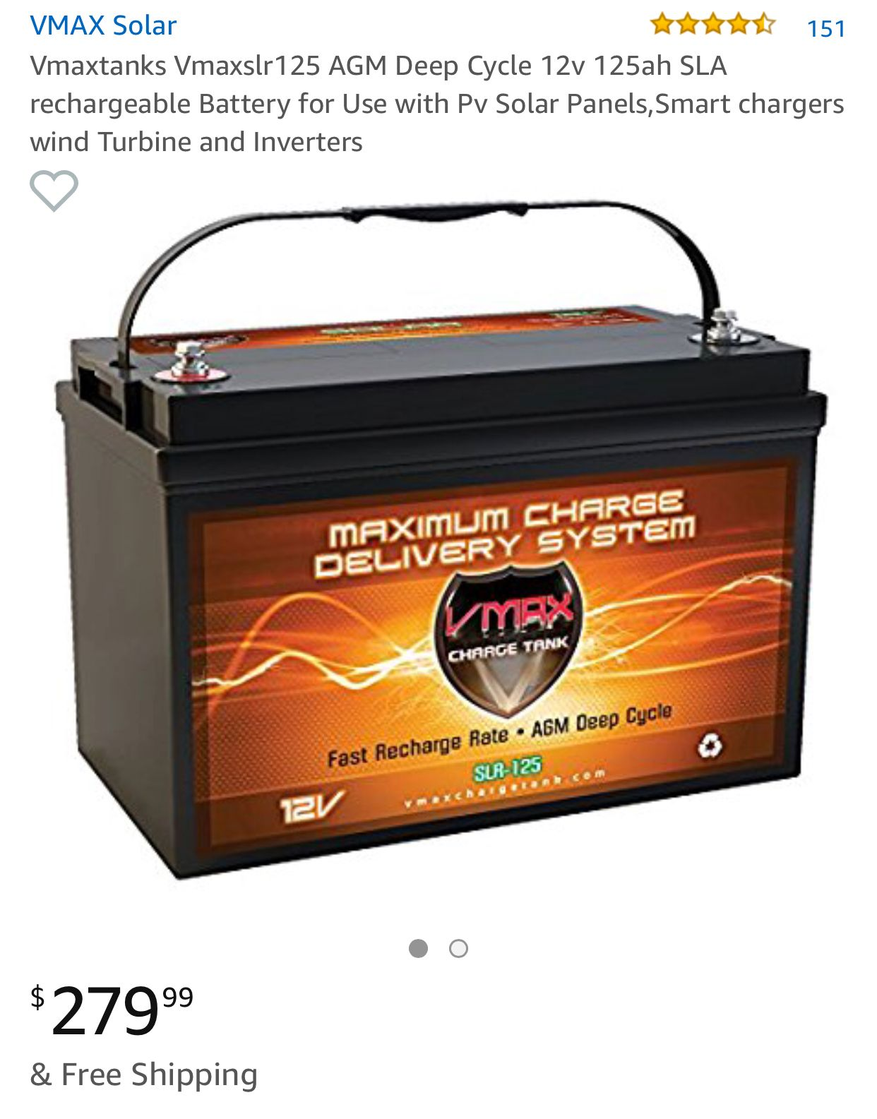 Got A Great New 12v Agm Deep Cycle Lithium Ion Battery Solar Pv Panel Solar Pv Cycle