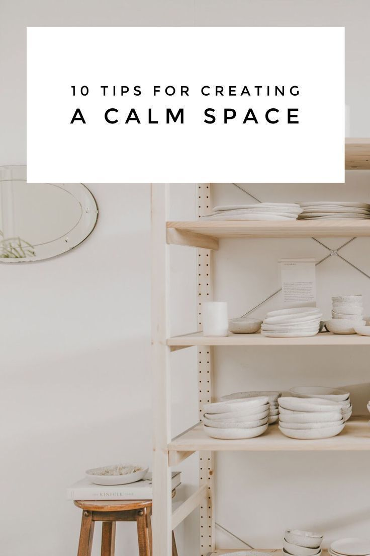 10 Tips for Creating a Calm Space   Creating a relaxing and beautiful space is easy; it only takes a few intentional adjustments to completely transform how you feel, work, and live. Here's 10 ideas we use for creating a calm space to recharge in: winterwares.com.au   #slowliving #mindfulness #selfcare