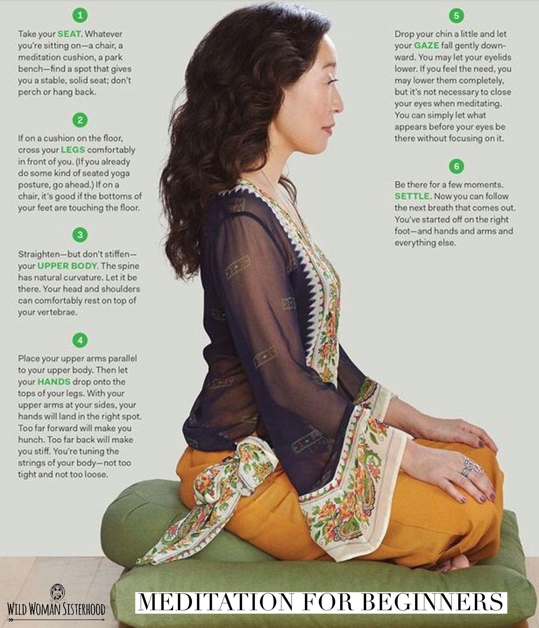Meditation For Beginners.. WILD WOMAN SISTERHOODॐ
