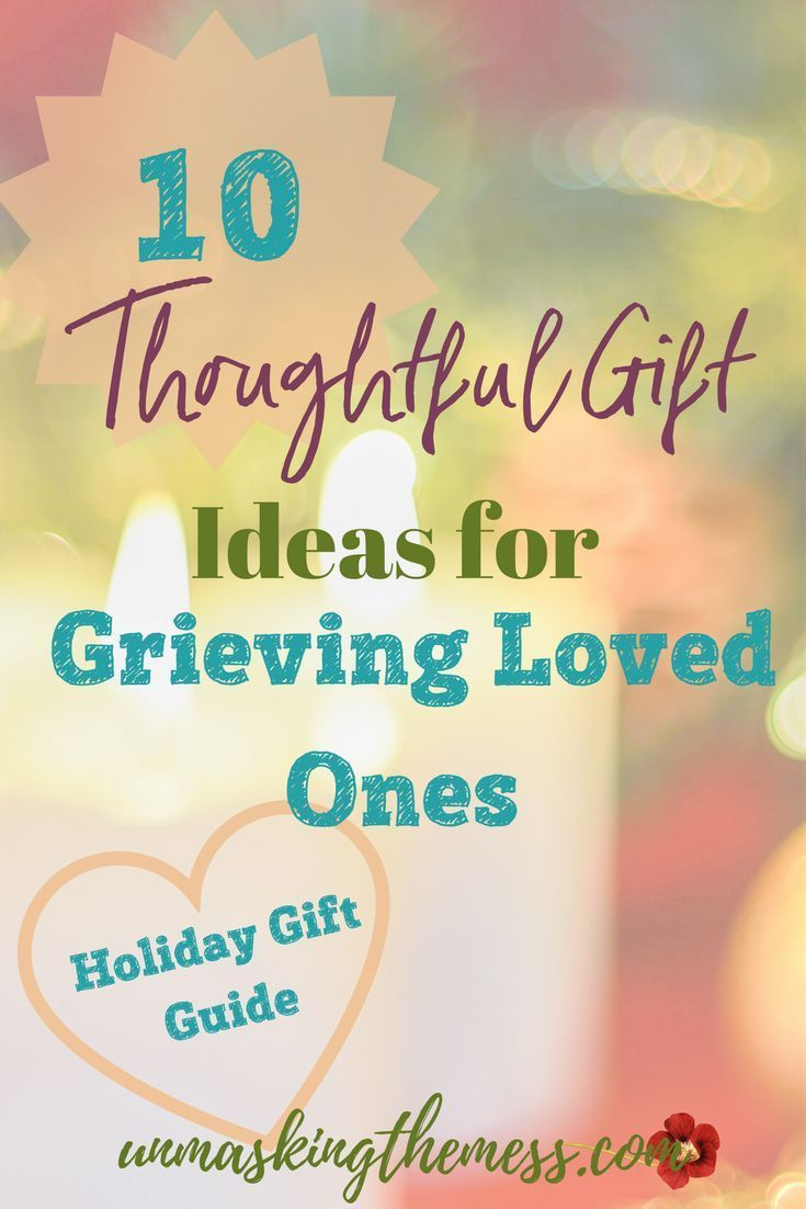 thoughtful gift for grieving mother