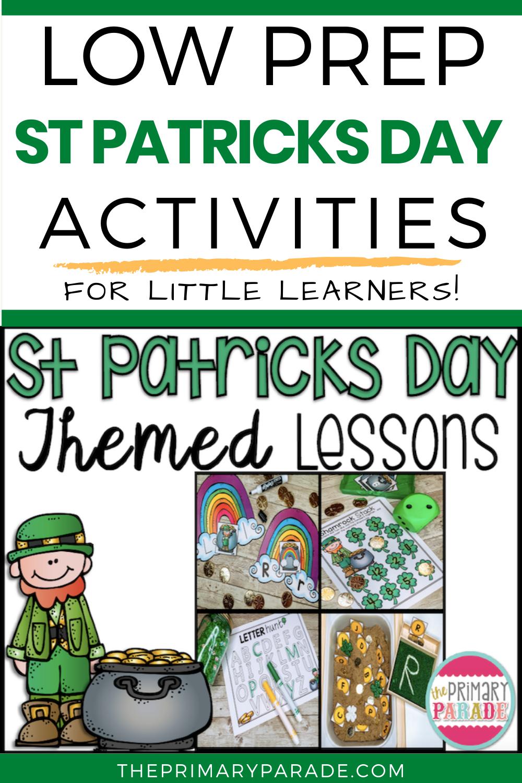 St Patricks Day Worksheets St Patrick Day Activities St Patricks Day Fine Motor Skills Tracing [ 1500 x 1000 Pixel ]