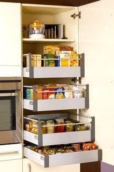 ranger la cuisine astuces et produits malins cuisine pinterest placard picerie et. Black Bedroom Furniture Sets. Home Design Ideas