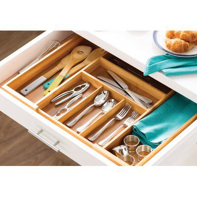 2 625  H x 23  W x 18  D Drawer Organizer is part of Study Drawer Organization - Effortlessly unclutter drawers in the kitchen or study with this essential organizer, featuring an expandable design and a bamboo construction