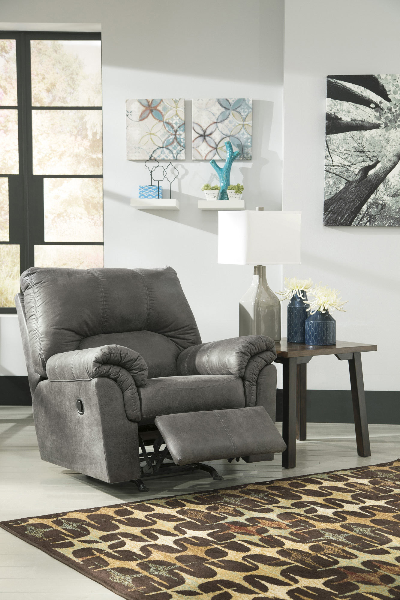 Get Your Bladen   Slate   Rocker Recliner At Railway Freight Furniture, Albany  GA Furniture Store.