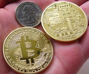 Trading gold for bitcoin