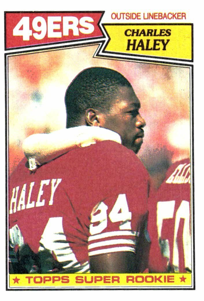 quality design e5967 c2986 Buy 1987 Topps Charles Haley Super Rookie Card San Francisco ...
