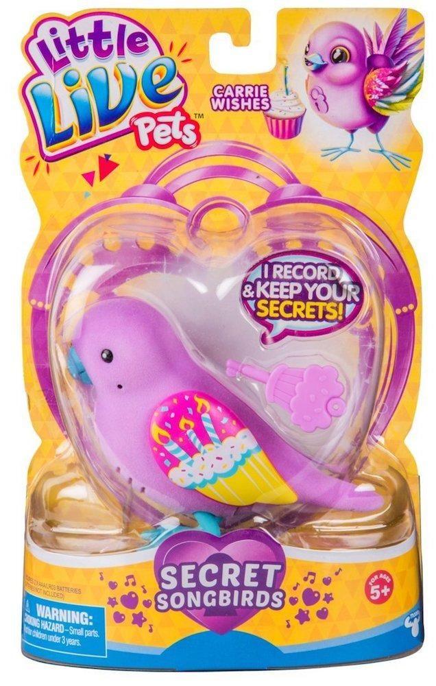 Little Live Pets Bird Carrie Wishes Little Live Pets Bird Toys Pet Bird