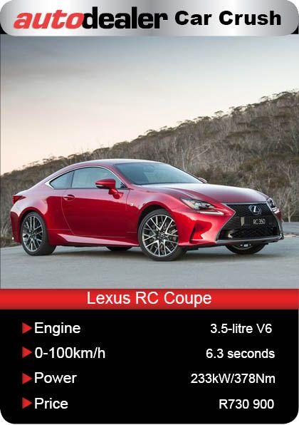 Lexus rc carsales