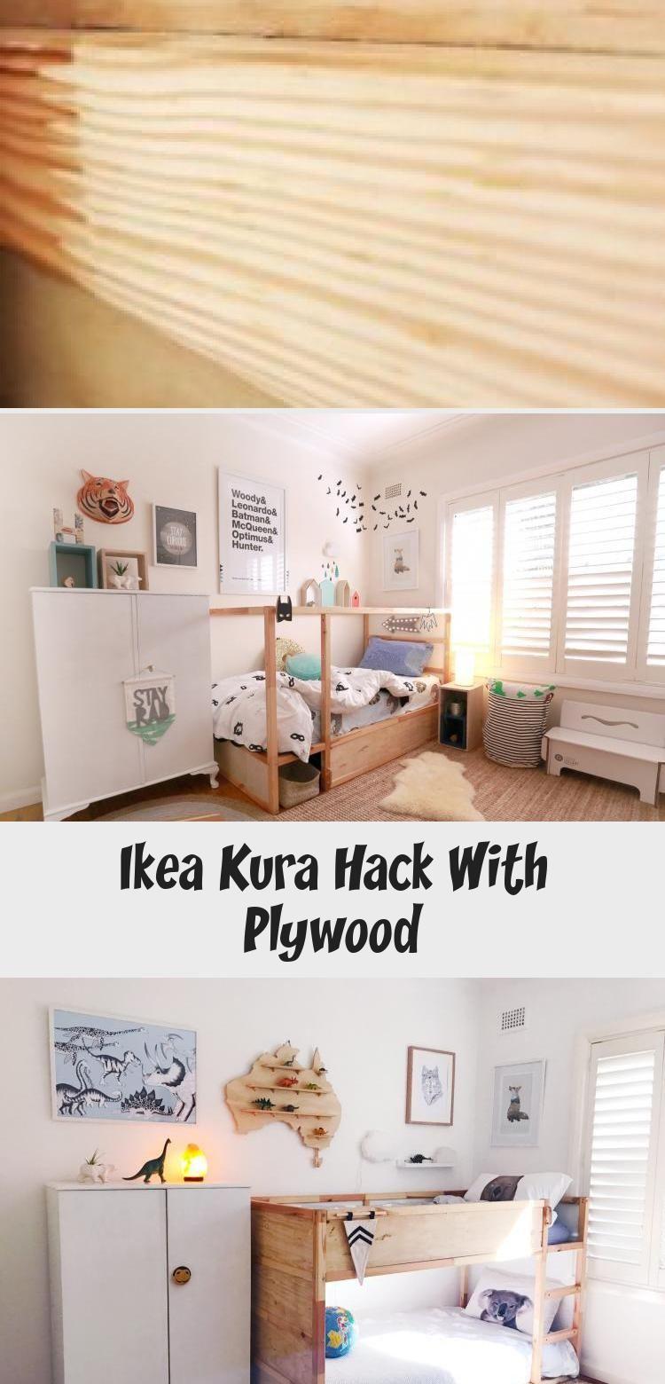 Ikea Kura Hack With Plywood Decor Dıy in 2020 Ikea