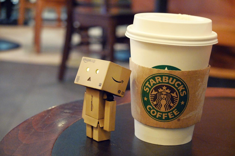 Danbo At Starbucks Coffee Drinks Danbo Coffee