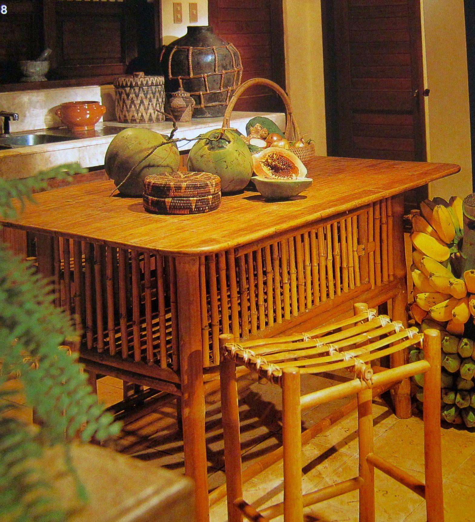 Simple native kitchen design -  Philippines Pilipinas Pinas Dining Table Furniture Native Southeastasia