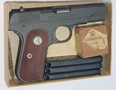 Colt Model 1903 Pocket Hammerless  32 ACP - Issued to Col