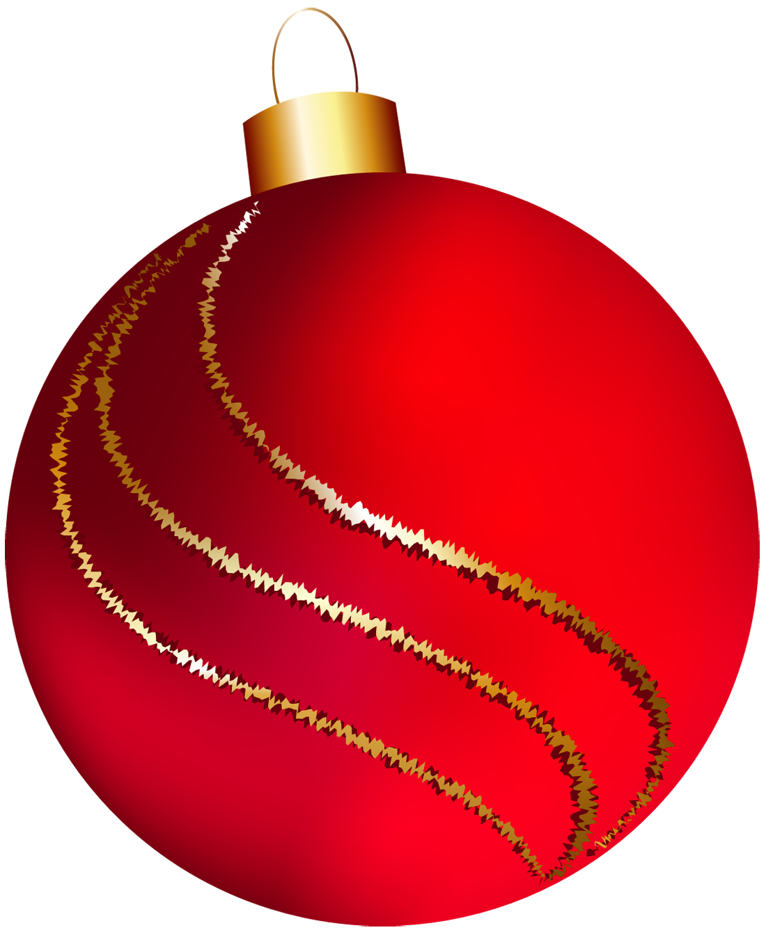 large red ornament clipart [ 1100 x 1336 Pixel ]