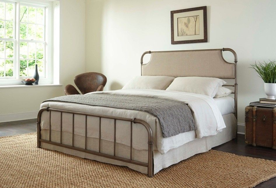 Dahlia Panel Bed Bed styling, Upholstered headboard, Bed