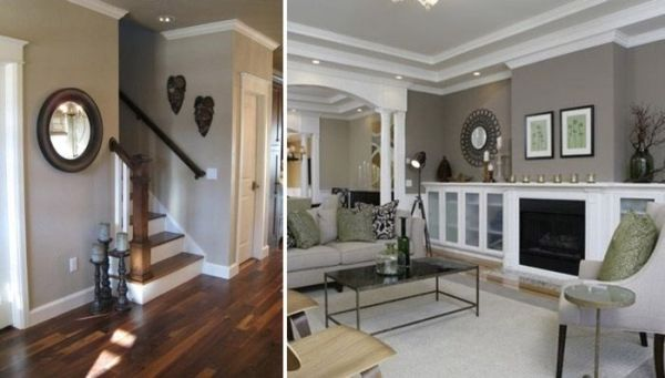 Benjamin Moore Revere Pewter paint by rebecca2 | Home | Pinterest ...