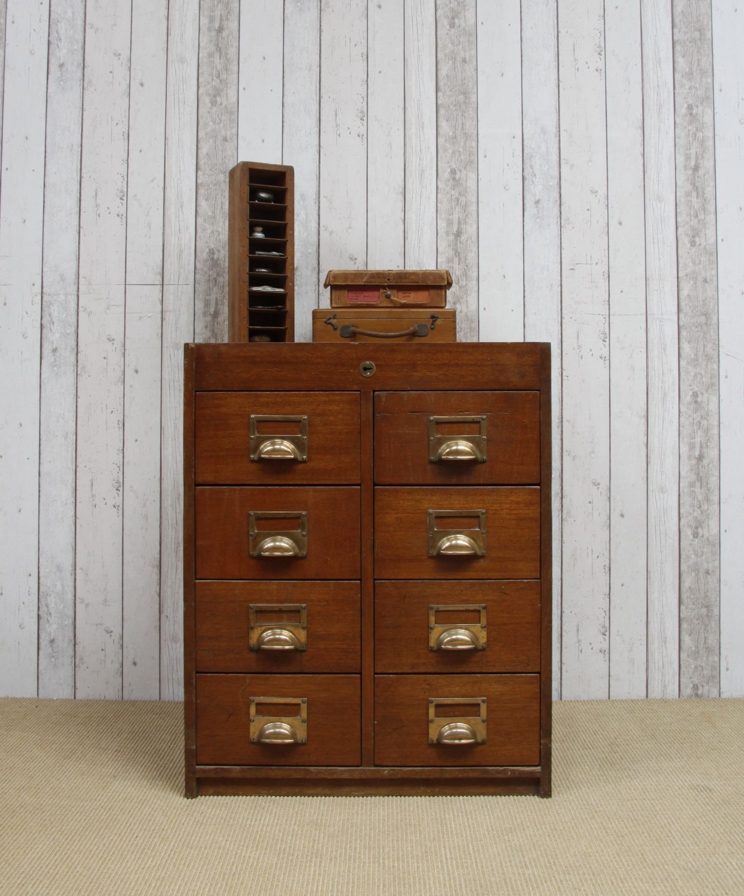 Vintage Oak Office Drawers- £195.00, Available To Purchase