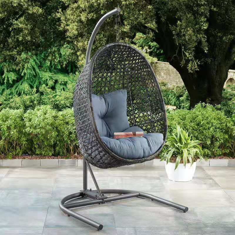 Patio & garden in 2020 Hanging chair with stand, Hanging