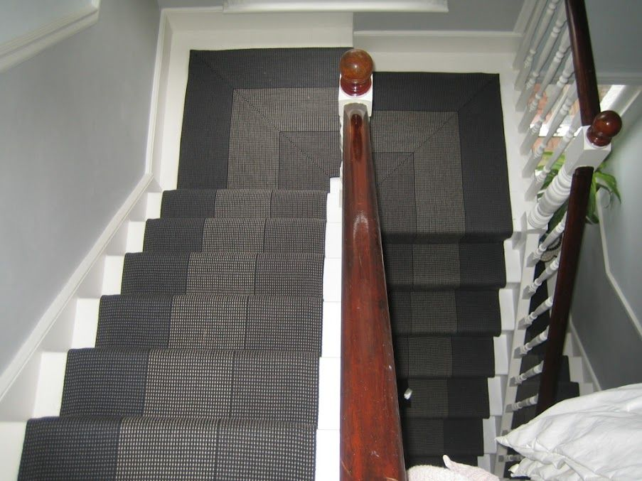 Best A Great Example Of Using Roger Oates Stair Runner Carpet 400 x 300