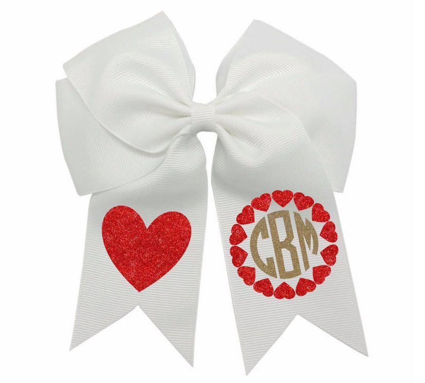 Valentine Hair Bow Valentine S Day Hair Bow Girls Valentine