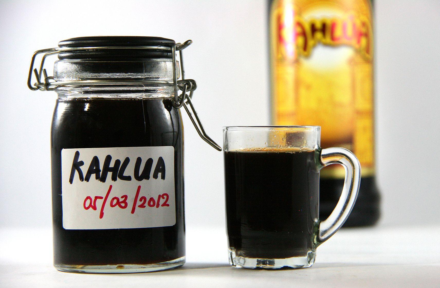 Make Kahlua (With images) Kahlua recipes, Homemade kahlua