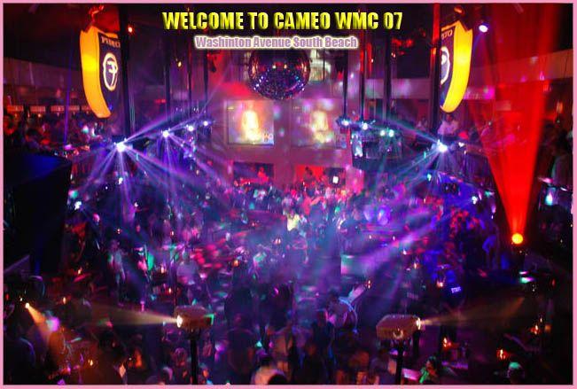 Cameo Nightclub Washington Avenue South Beach Miami Winter Music Conference Wmc Florida Ultra Festival 1445 Ave