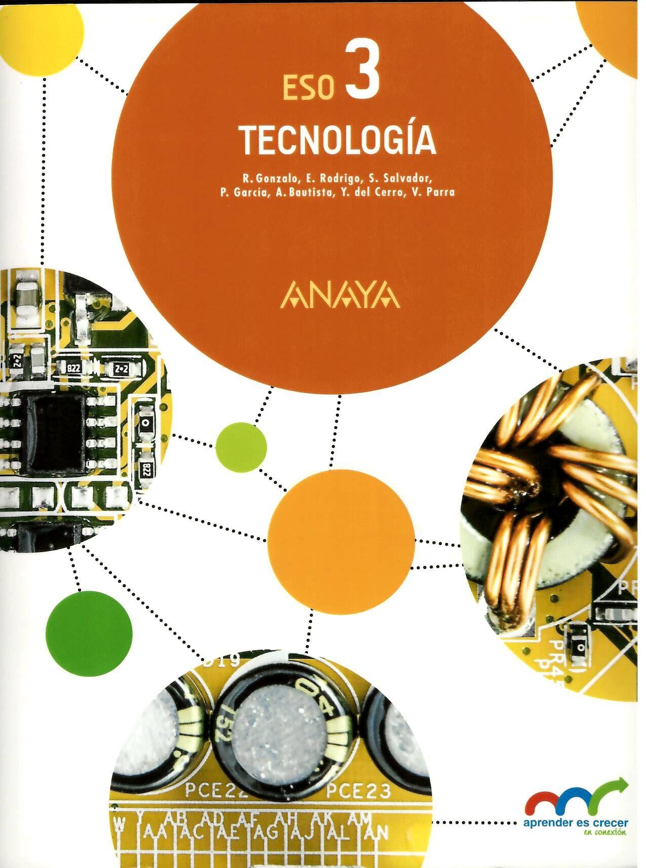 Tecnología 3 Primer Ciclo Eso Ramón Gonzalo Fernández Et Al Tecnologia Libros Anaya