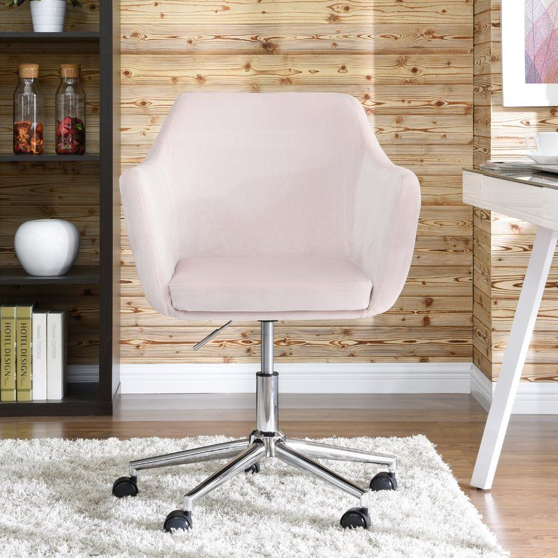 Noell Task Chair With Images Upholstered Office Chair Dining
