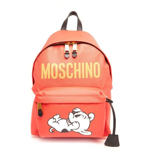 Moschino PUDGY PRINTED NYLON BACKPACK 1WjNi