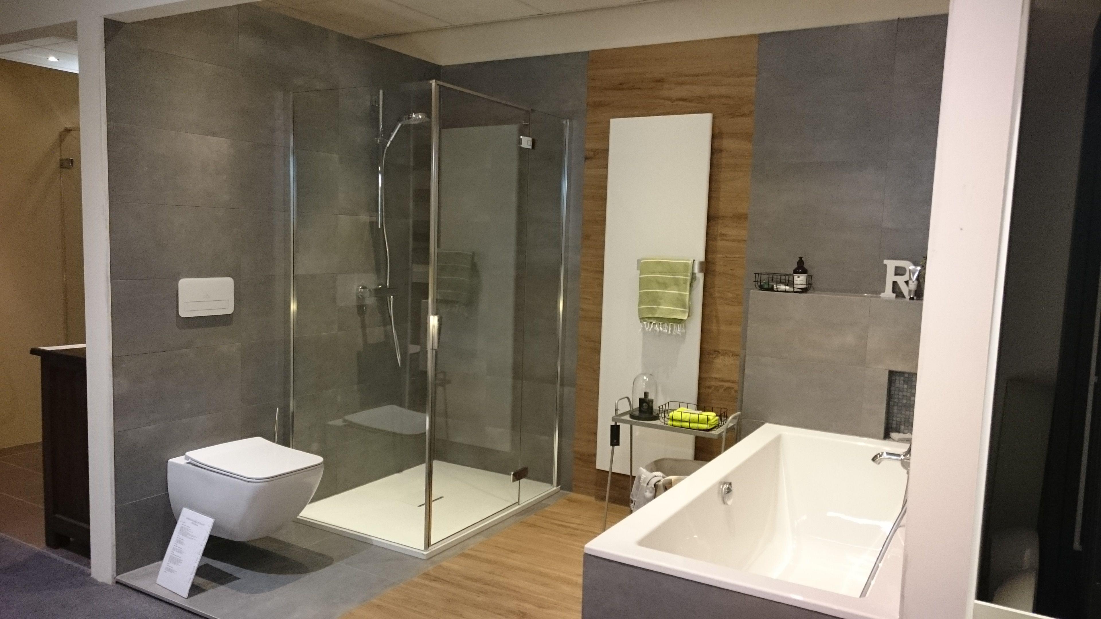 Badkamer Houtlook Tegels : Afbeeldingsresultaat voor badkamer met houtlook tegels badkamer