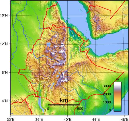 Geography of Ethiopia Wikipedia Ethiopia