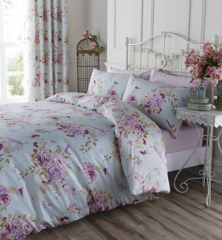 catherine lansfield rideaux fleurs en forme de cage oiseaux cuisine maison mes. Black Bedroom Furniture Sets. Home Design Ideas