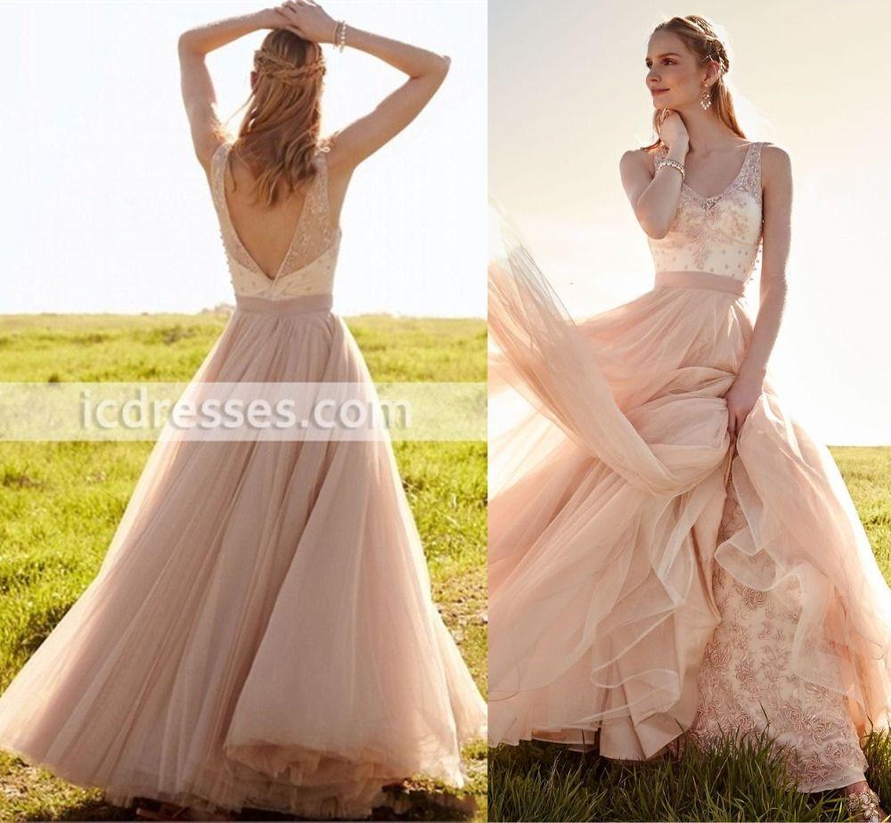 blush lace wedding dress plus size dresses for wedding guests