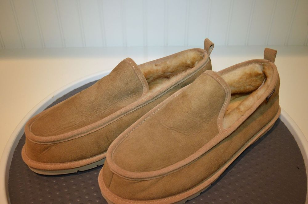 96c848bc1e0 Cabela's Shearling & Suede Slippers - men's size 11W #moccasins ...