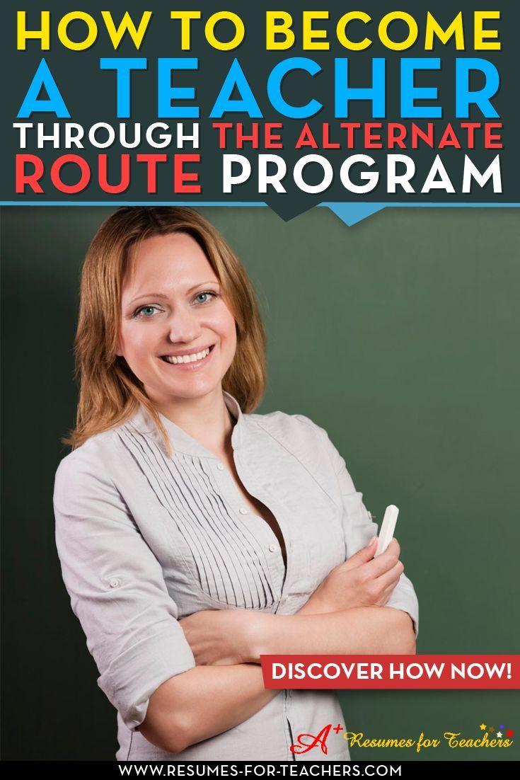 How To Enter Teaching Through An Alternate Route Program  Career